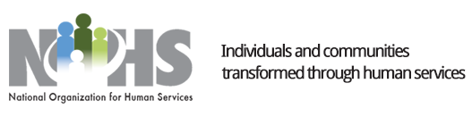 National Organization for Human Services logo.