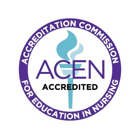Accreditation Commission for Education in Nursing, Inc. (ACEN) Accredited Logo