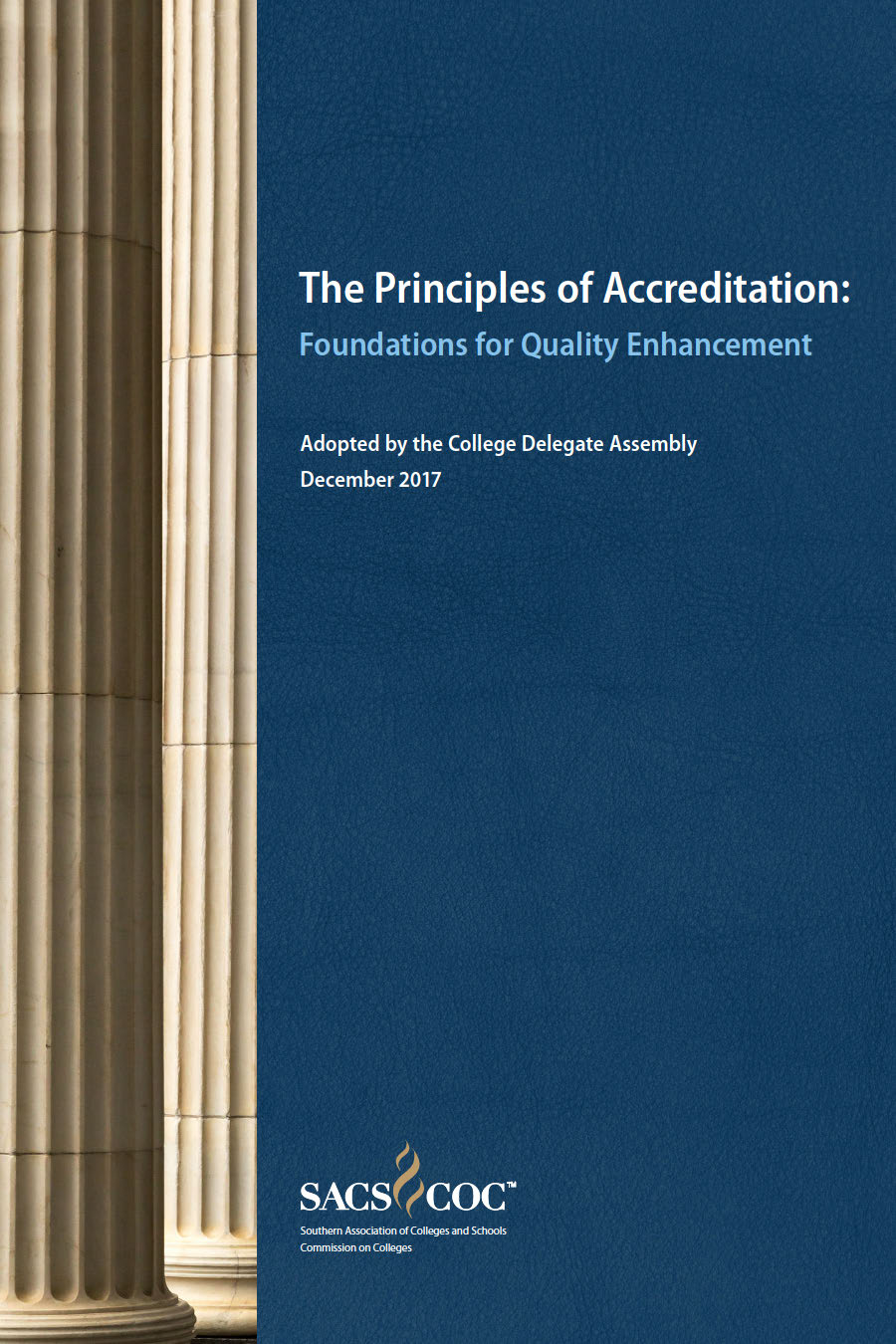 The Principles of Accreditation textbook