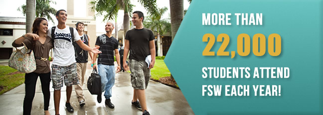 More than 22,000 students attend FSW each year.
