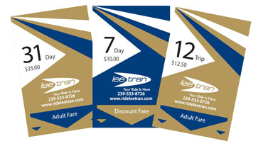LeeTran Bus Passes.