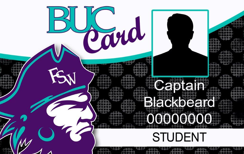 Florida SouthWestern State College Student BUC Identification Card.