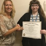 Congrats to Kimberly Hargrave, receiving the Congress of Future Medical Leaders Award for Excellence