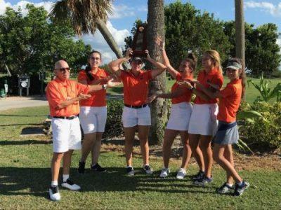 Girls Golf Hailey Lainhart LBHS Girls Golf District Champs