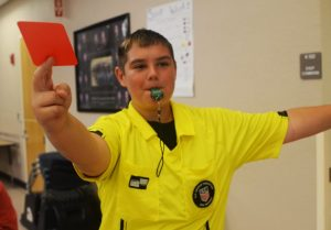 Career Day, Soccer Ref, Andrew Anderson