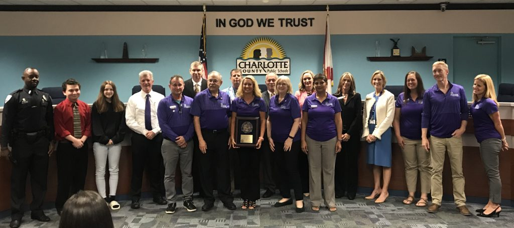 FSWC Recognized at CCPS School Board Meeting