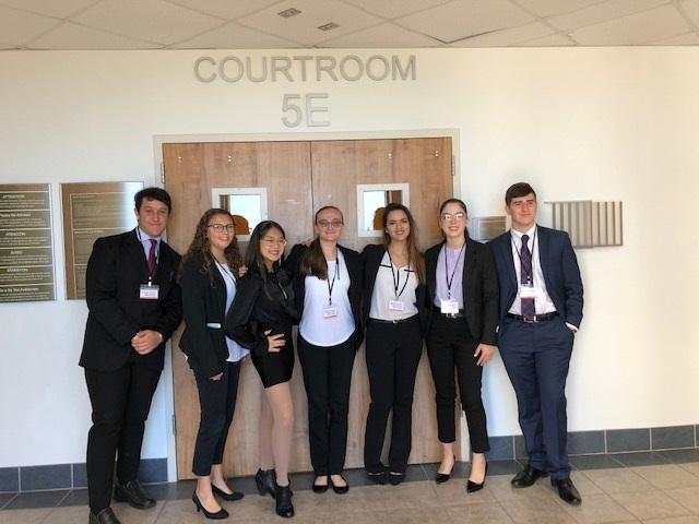 Twentieth Circuit Mock Trial, Courtroom 5E