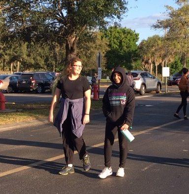 Bucs on the Run/Walk Caroline Grieger & Emman Sayed