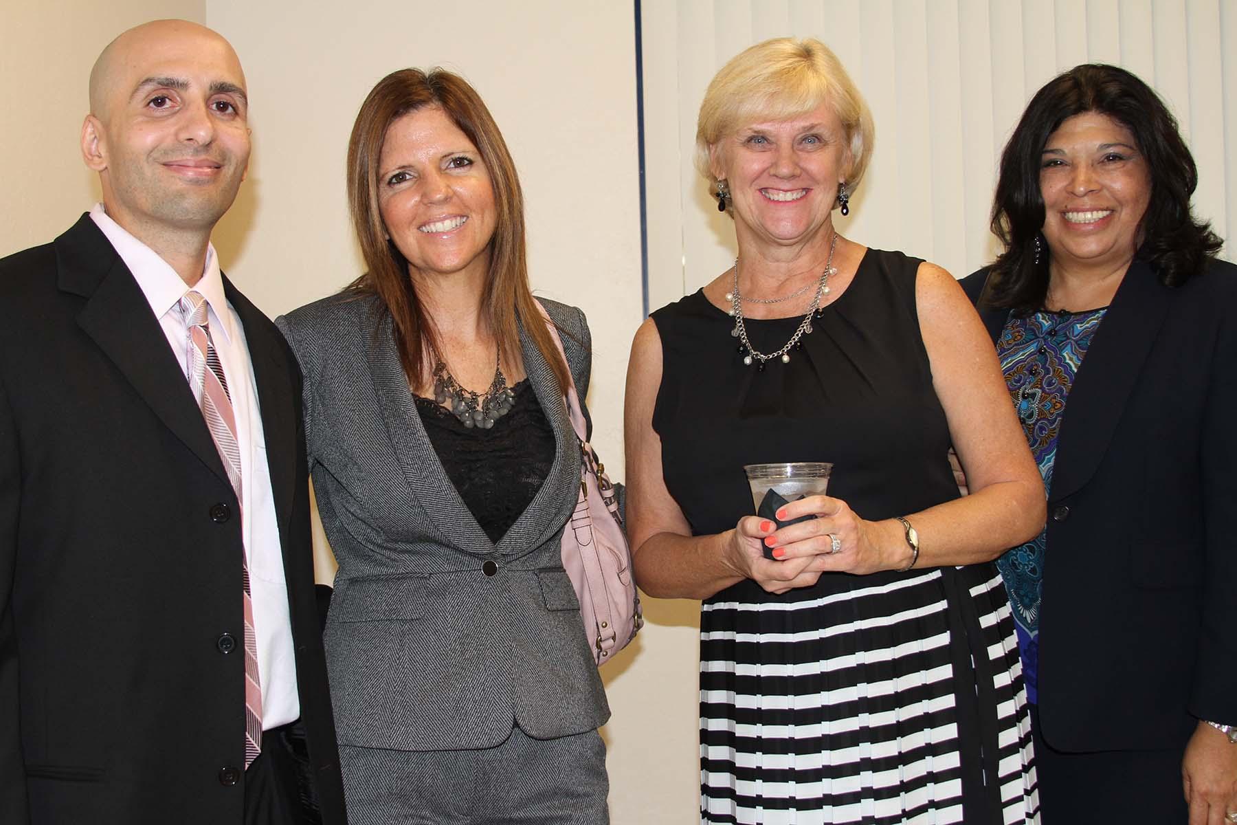 Dan DeLuca, Dr. Eileen DeLuca, Cindy Baker, Liz Allbritten
