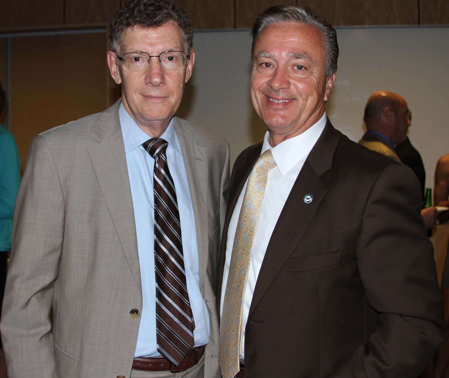 Dr. Allen Weiss and Dr. Lou Traina
