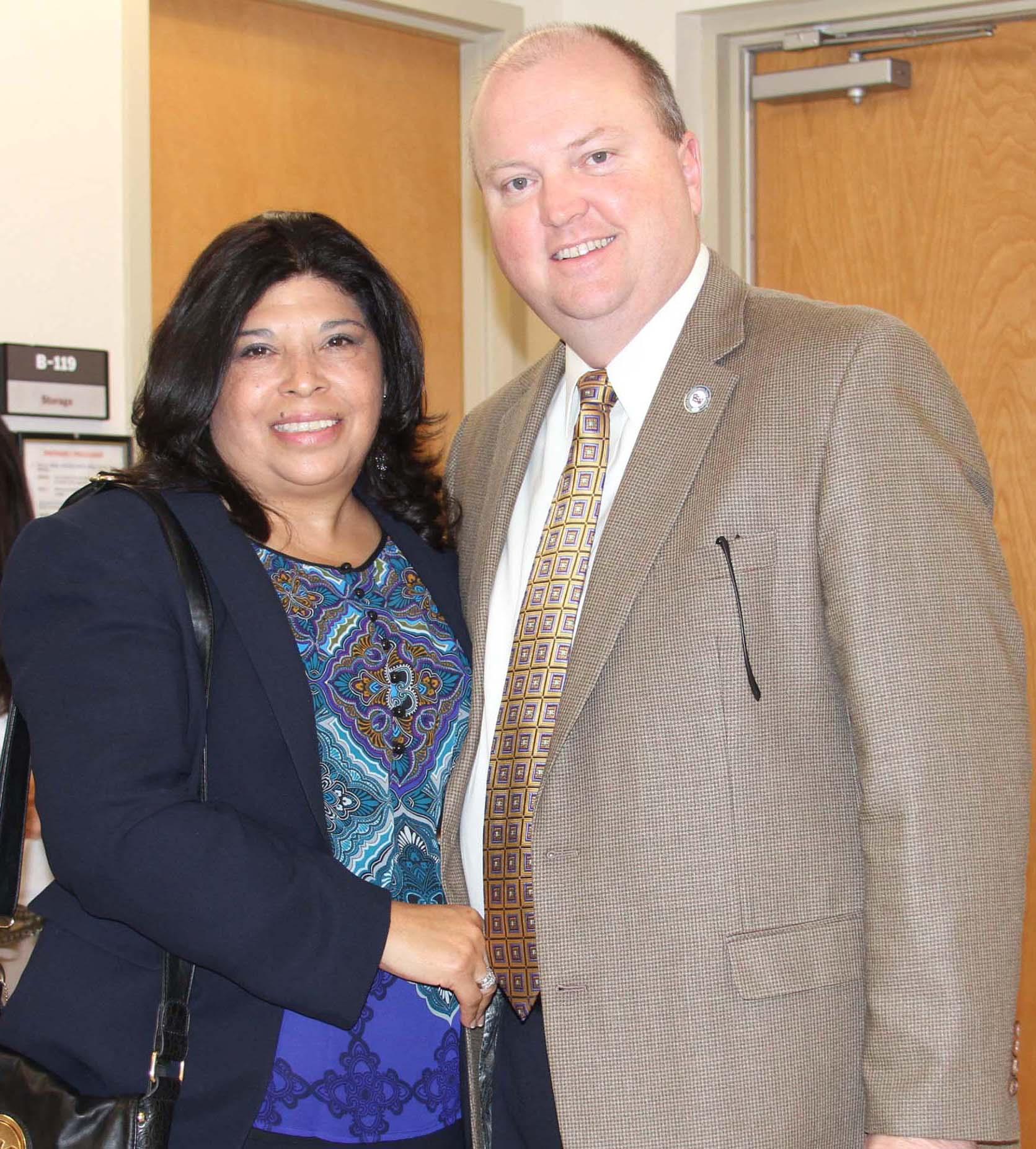 Liz and Dr. Jeff Allbritten