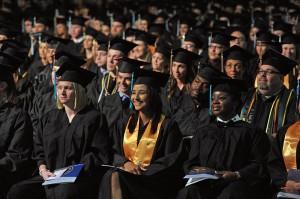 Graduates-Sitting